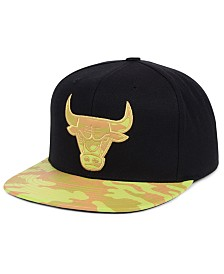 Mitchell & Ness Chicago Bulls Natural Camo Snapback Cap