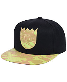 Mitchell & Ness Sacramento Kings Natural Camo Snapback Cap