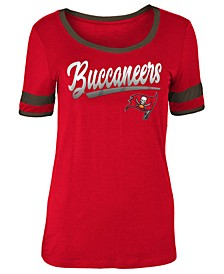 Women's Tampa Bay Buccaneers Rayon Scoop T-Shirt