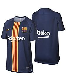 FC Barcelona Club Team Dry Squad Top GX 2, Big Boys (8-20)