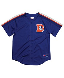 Men's Denver Broncos Winning Team Mesh Button Front Jersey