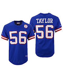 Mitchell & Ness Men's Lawrence Taylor New York Giants Mesh Name and Number Crewneck Jersey