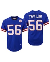 dd61337c165 Mitchell   Ness Men s Lawrence Taylor New York Giants Mesh Name and Number  Crewneck Jersey