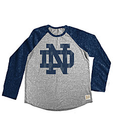 Retro Brand Notre Dame Fighting Irish Raglan Long Sleeve T-Shirt, Toddler Boys (2T-4T)