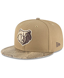New Era Memphis Grizzlies Snakeskin Sleek 59FIFTY FITTED Cap