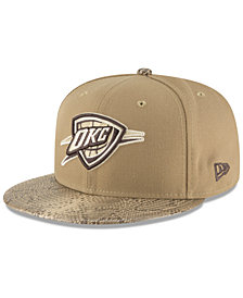 New Era Oklahoma City Thunder Snakeskin Sleek 59FIFTY FITTED Cap