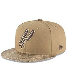 New Era San Antonio Spurs Snakeskin Sleek 59FIFTY FITTED Cap