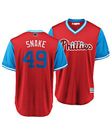 Majestic Men's Jake Arrieta Philadelphia Phillies Players Weekend Replica Cool Base Jersey