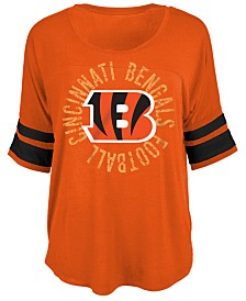 5th & Ocean Women's Cincinnati Bengals Circle Logo T-Shirt