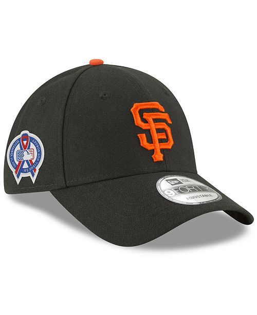 0982bf6f3f784 New Era San Francisco Giants 9-11 Memorial 9FORTY Cap - Sports Fan ...
