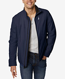 Nautica Men's Water & Wind Resistant Stretch Jacket
