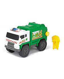 Dickie Toys - Light And Sound Motorized Garbage Truck Vehicle