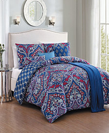 Cantara 7 Pc Queen Comforter Set