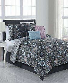 Etta 7 Pc Queen Comforter Set