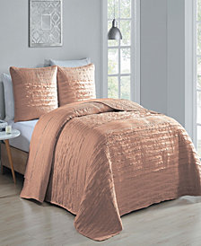 Spain 3 Pc King Quilt Set