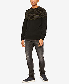A|X Armani Exchange Men's Wave Sweater