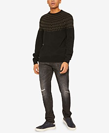 A|X Armani Exchange Men's Wave Sweater