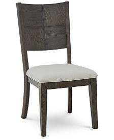 Matrix Upholstered Side Chair, Created for Macy's
