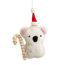 Global Goods Partners Embellished Felt Koala Ornament