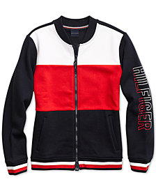 Tommy Hilfiger Women's Adelynn Flag Bomber Jacket from The Adaptive Collection