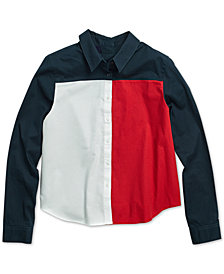 Tommy Hilfiger Women's Flag Spirit Shirt from The Adaptive Collection