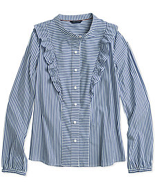 Tommy Hilfiger Women's Poppins Plaid Top, from The Adaptive Collection