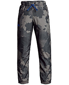 Under Armour Big Boys Phenom Camo-Print Pants