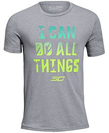Under Armour Big Boys SC30 All Things Graphic T-Shirt