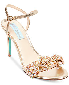 Blue By Betsey Johnson Harlo Evening Sandals