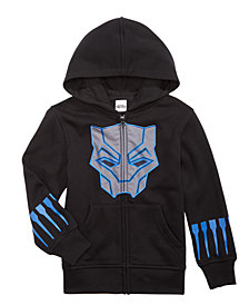 Marvel Little Boys Black Panther Hoodie