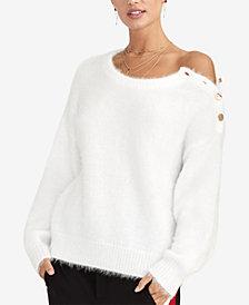 RACHEL Rachel Roy Amara Fuzzy Sweater