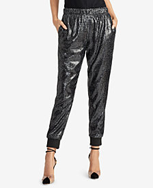 RACHEL Rachel Roy Nisha Sequin Joggers, Created for Macy's