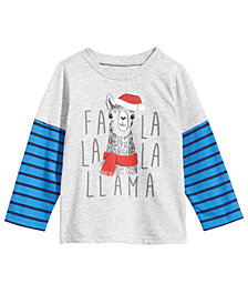 First Impressions Baby Boys Layered-Look Holiday T-Shirt, Created for Macy's