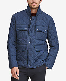 Marc New York Men's Fletcher Four-Pocket Quilted Jacket