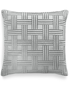 Hotel Collection Lithos Embroidered European Sham, Created for Macy's