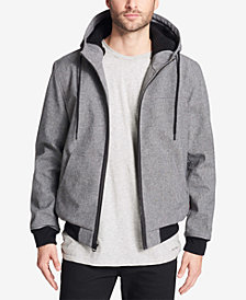 Levi's® Men's Soft Shell Jacket with Fleece-Lined Hood