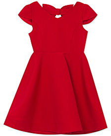 Rare Editions Big Girls Bow-Back Dress