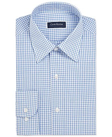 Club Room Men's Classic/Regular Fit Check Dress Shirt, Created for Macy's