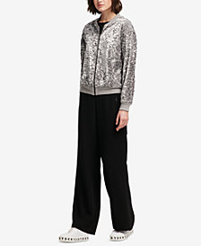 DKNY Sequinned Jacket, Created for Macy's