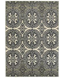Oriental Weavers Linden 7818A Navy/Ivory Area Rug