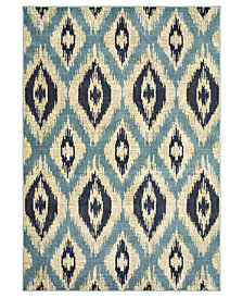 "Oriental Weavers Linden 7825C Blue/Grey 1'10"" x 3' Area Rug"