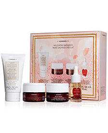 Korres 4-Pc. Wild Rose Radiance Gift Set, A $128.00 Value!
