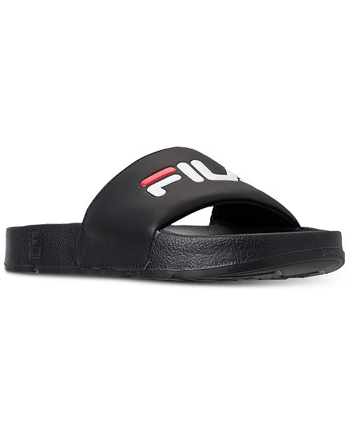 58f6a1c4b Fila Men s Drifter Slide Sandals from Finish Line   Reviews - Finish ...