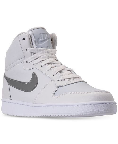 8bf7ed1b22 Nike Women s Ebernon Mid Casual Sneakers from Finish Line   Reviews ...
