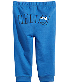 First Impressions Toddler Boys Hello Jogger Pants, Created for Macy's