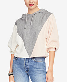 RACHEL Rachel Roy Devika Colorblocked Hoodie, Created for Macy's