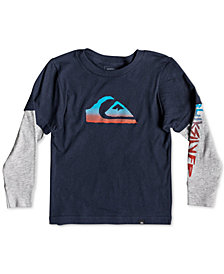 Quiksilver Little Boys Rough Script Tech Shirt