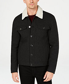 Michael Kors Men's Sherpa Trucker Jacket