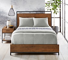 Steve Ribbed Stripe Bedding Collection, Created for Macy's
