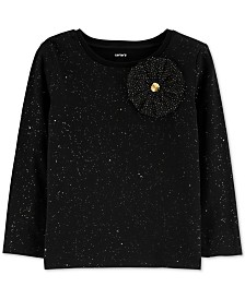 Carter's Toddler Girls Glitter Rosette Top